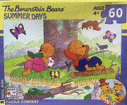 """Rare Berenstain Bears Puzzle 60pc - 19""""x13""""in - """"summer Days"""" - Brand New"""