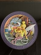 Disney Store Peter Pan 3d Plate Tink, Tinkerbell Where Are You