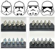 Star Wars Lego Moc Mini Figures Lot Stormtrooper Clones Toys Gifts Collections