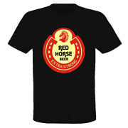 Red Horse Extra Strong Beer T Shirt