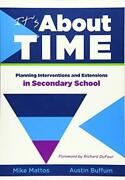 Itand039s About Time [secondary] Planning Intervent Mattos Buffum-