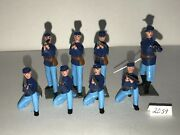 Britains Lead Toy Soldiers Us Infantry Civil War Union W Officer Ref. 2059
