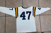 Old Game Worn Durene Champion Lsu Tigers Style 50andrsquos-60andrsquos Football Jersey