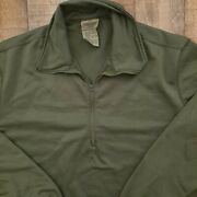 Us Army Mens Xl Long Sleeve Sleeping Shirt Heat Cold Weather Authentic Usa Og