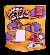 Yo Quiero Taco Bell Chihuahua 1997 Kids Meal Toys Promotional Case Display