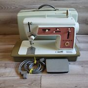 Vtg Singer Touch And Sew Sewing Machine Special Zig Zag Model 626 Tested Works