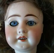 Antique German Porcelain Wood Baby 1880's Made Doll W/dress And Undergarments