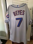 Jose Reyes Ny Mets Stitched Away Jersey