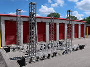 Tomcat 10ft Aluminum 12x12 Stage Lighting Truss Set Or Exhibition Booth