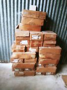 Lot Of 34 Boxes 100 Ct. American Olean 4 X4 X 1/4 Wall Glazed Tile New