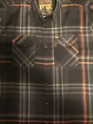 Dixxon Flannel Fox Racing Mens Xl Tall Sold Out Limited Edition Rare Flannel