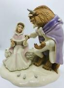 Super Rare Lenox Beauty And The Beast Love First Touch
