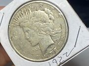1922 D Liberty Peace One Dollar Silver Coin Ungraded Circulated