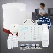 Homsecur Wireless Wcdma-3g/gsm Lcd Home Security Alarm System With Smoke Sensor