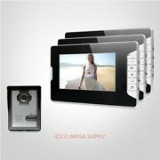 7inch Video Security Door Phone With Mute Mode For Home Security For House/ Flat