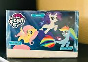 Hasbro My Little Pony Seapony Figurine Collection Pack Mermaid Tail Toys Movie