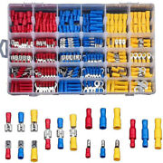 480pc Car Insulated Cable Connector Electrical Wire Assorted Crimp Terminals Kit