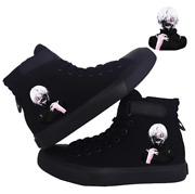 Anime Tokyo Ghoul Hightop Sneakers Comfortable Canvas Shoes
