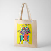 Tokyo 2020 Olympic Paralympic Official Art Poster Tote Bag Chihiro Mori