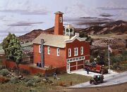 Campbell Scale Models 441 Ho Breckenridge Fire House