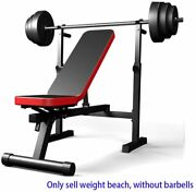 Heavy Duty Adjustable Weight Lifting Bench Foldable Steel Weight Benches Home