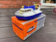 Marx Toys S.r.n.5 Hovercraft In Its Original Box - Near Mint Fully Working Rare