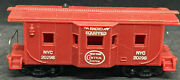 Vintage Ho Scale Marx New York Nyc 20298 Bay Window Caboose Radio Equipped