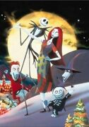 108 Piece Jigsaw Puzzle Nightmare Before Christmas Discontinued Products 6-317