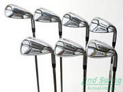 Mint Cleveland Launcher Uhx Iron Set 4-pw Stl Stiff Right +3 Degrees Up 39.25in