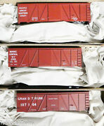 Accurail Ho 8135 3 Pack Pacific Great Eastern, Quebec Central, Grand Truck