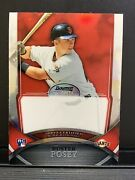 Buster Posey 2010 Bowman Sterling Red Refractor Test Proof Non Auto Rc 1/1 Rare