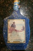 Vintage Jim Beam Decanter Hauling In The Gill Net Frederic Remington