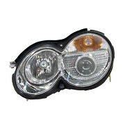 Cpp Mb2502132 Left Headlamp Assembly Composite For Mercedes S-class