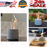 Colsen Tabletop Rubbing Alcohol Fireplace Indoor Outdoor Fire Pit Portable Fire