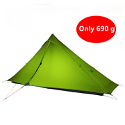1 Pro Tents Oudoor 1 Person Ultralight Camping Tents 3 Season 20 D Rodless Tents