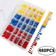 480p Car Electrical Wire Assorted Crimp Spade Nsulated Cable Connector Terminal