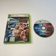 Wwe Smackdown Vs Raw 2007 Xbox 360 No Manual Tested Working Free Shipping Good