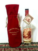 Pappy Van Winkle Family Reserve 20 Year Empty Bottle + Red Velvet Bag And Tag