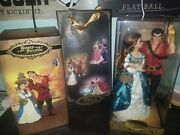 Disney Fairytale Collection Belle And Gaston Doll