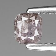 0.66cts Pink Cushion 100 Natural Diamond Outstanding Luster ✯clearance Sale✯