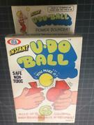 Vintage 1970's Ideal U-do Ball Mint Sealed Package Mib Nos Old Store Stock Mint