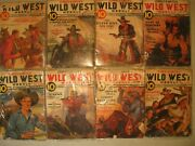8 1930's Street And Smith's Wild West Weekly Magazines, Western Collectibles