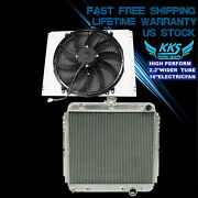 Kks 3 Rows Radiator And Shroud 16 Fan For 67-70 Ford Mustang Mercury Cougar 68 69