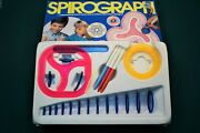 Kenner 1986 Spirograph Set Includes All The Original Gears, Tools, Pens And More