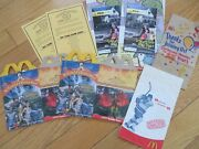 19932005 Mcdonalds Bags,1/canada, +happy Meal Boxes, Free Card, Ty, Flintstones