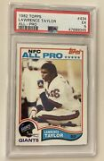 Lawrence Taylor Rookie Card Psa 5