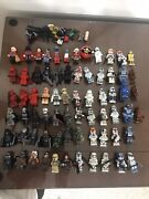 Star Wars Minifigure Lot 70 Lego And Custom Figures Helping Family Out