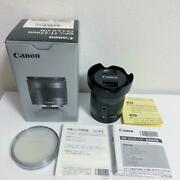 Canon Ultra Wide-angle Zoom Lens Ef-m 11-22mm Is Stm