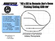 Lionel Fastrack 40x60 To Remote Jim's Gone Fishing Siding Track Add-on-pack New