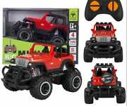 Toys Car For Boys Kids Rc Mini Red Jeep Remote Control Cars For Baby Gift New